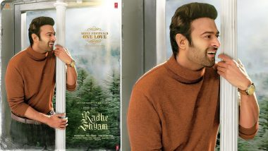 Radhe Shyam: Prabhas' Charming Smile Is the Highlight of This New Poster From the Film!
