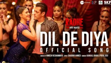 Radhe Song 'Dil De Diya' Featuring Salman Khan and Jacqueline Fernandez To Be Out on April 30!