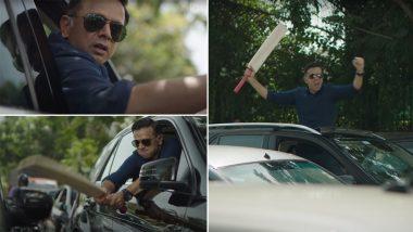 BTS from Rahul Dravid's 'Indira Nagar Ka Gunda' Advertisement Goes Viral (Watch Video)