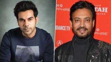 Rajkummar Rao Says He Is a Big Fan of Late Actor Irrfan Khan, Adds 'Would Love To Achieve Filmography Like Him'