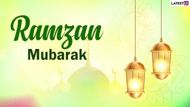 Ramzan Mubarak 2021 Wishes And Shayari: Happy Ramadan Urdu Messages, SMS, Chand Mubarak Image And Greetings To Celebrate Arrival of the Holy Month