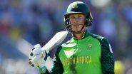 AUS vs SA, ICC T20 World Cup 2021 Super 12 Dream11 Team Selection: Recommended Players As Captain and Vice-Captain, Probable Line-up To Pick Your Fantasy XI
