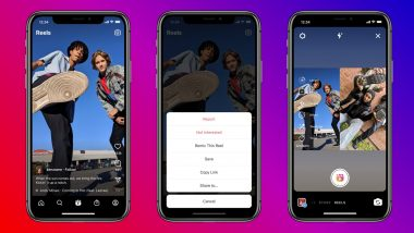 Instagram Remix Feature in Reels Very Similar Duets on TikTok Launched and Netizens Are Thrilled! Here's How To Use Reels Remix (Watch Videos)