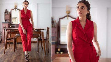 Aditi Rao Hydari's Chic Co-ord Set by Notebook Looks Effortlessly Stunning (View Pics)