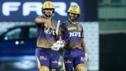 KKR vs CSK Dream11 Team Prediction IPL 2021: Tips to Pick Best Fantasy Playing XI for Kolkata Knight Riders vs Chennai Super Kings, Indian Premier League Season 14 Match 15