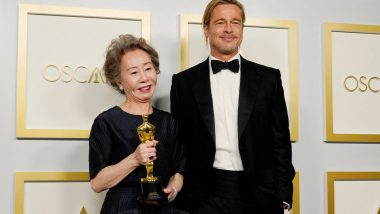 Oscars 2021: Minari's Youn Yuh-Jung Gave an Epic Reply When Asked What Brad Pitt Smells Like