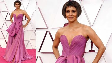 Oscars 2021: Halle Berry Laughs Off to a Joke About Her Hairdo at 93rd Academy Awards