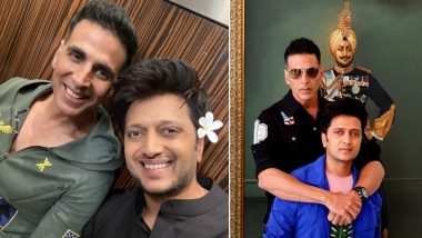 Akshay Kumar's Housefull Co-Star Riteish Deshmukh Wishes the Actor Speedy Recovery From COVID-19