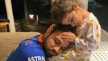 Ritika Sajdeh Wishes Hubby Rohit Sharma on His 34th Birthday, Says 'World Is a Better Place With You in It'