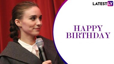Rooney Mara Birthday Special: From The Social Network to The Girl With The Dragon Tattoo, 5 Best Performances That We Loved!