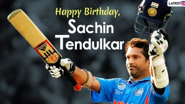 Sachin Tendulkar Birthday Special: Lesser-Known Facts About the Master Blaster As He Turns 48