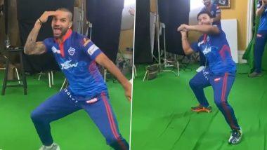 Shikhar Dhawan, Rishabh Pant, Steve Smith & Other Delhi Capitals Stars Dance like There's No Tomorrow! (Watch Videos)