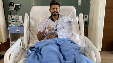 Shreyas Iyer Injury Update: Delhi Capitals and Team India Batsman Undergoes Shoulder Injury, Assures Fans of a Swift Return