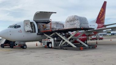 SpiceJet Airlifts 800 Oxygen Concentrators From Hong Kong to Delhi for Emergency Use