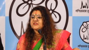 West Bengal Assembly Elections 2021: TMC Candidate Sujata Mondal Khan Accuses Despite Pressing TMC Symbol, Vote Going to BJP in Arambagh