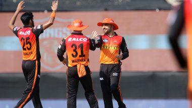 PBKS vs SRH IPL 2021 Stat Highlights: Jonny Bairstow, Bowlers Shine As Sunrisers Hyderabad Beat Punjab Kings by 9 Wickets