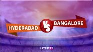 SRH 123/6 in 18 Overs (Target 150) | SRH vs RCB Live Score Updates of VIVO IPL 2021: Harshal Patel Removes Vijay Shankar