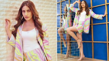 Surbhi Chandna's Neon Co-ord Set Will Make Your Heart Flutter With Joy (View Pics)