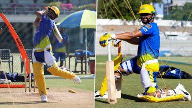 Suresh Raina Focused in Training Ahead of CSK vs RCB Match in IPL 2021