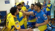 Suresh Raina, Deepak Chahar & Other CSK Stars Celebrate MS Dhoni's 200th Appearance for Chennai Super Kings (Watch Video)