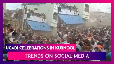 Ugadi Celebrations In Kurnool Trends On Social Media As Hundreds Flout Covid-19 Norms Amid Spike In Cases