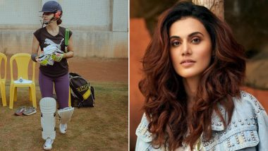 Shabaash Mithu: Taapsee Pannu Starts Shooting for the Sports-Drama, Shares Day 1 Picture From the Sets