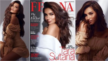 Tara Sutaria Turns Up the Heat in New Cover Shoot, Check Out Indian Actress' Super Glam Pics and Video