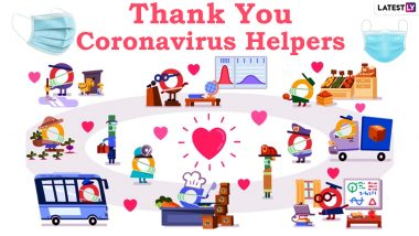 'Thank You Coronavirus Helpers' Wishes & Greetings: Send Digital 'Thank You' Cards, Quotes, Messages & HD Images to Celebrate Health Workers & Coronavirus Warriors