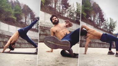Varun Dhawan Posts New Workout Video, Flaunts His Chiselled Physique – WATCH