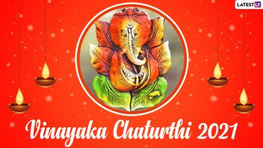 Vinayaka Chaturthi 2021 Date, Shubh Tithi and Puja Vidhi: Know Significance of the Day to Worship Lord Ganesha