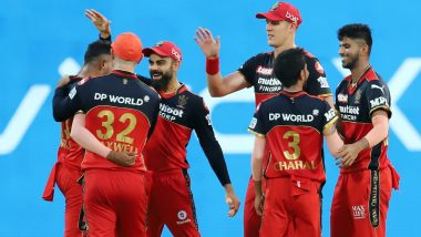 How To Watch RCB vs MI IPL 2021 Live Streaming Online in India? Get Free Live Telecast of Royal Challengers Bangalore vs Mumbai Indians VIVO Indian Premier League 14 Cricket Match Score Updates on TV