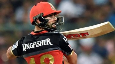Virat Kohli Smashes Chair Out of Frustration After His Wicket During RCB vs SRH, IPL 2021, Gets Reprimanded for Breach of IPL Code of Conduct (Watch Video)