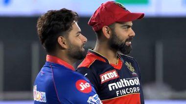 IPL 2021: Virat Kohli, Rishabh Pant Engage in Light Moment After DC vs RCB Thriller (Watch Video)