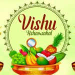 Happy Vishu 2021 HD Images, Wallpapers & Greetings: Send Vishu Ashamsakal Messages, Vishu Wishes in Malayalam, Telegram HD Images & WhatsApp Stickers to Celebrate Kerala New Year