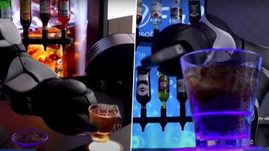 Robots, Perfect Pandemic Worker? Barney, the Swiss Robot Bartender Can Make Delicious Cocktails & Jokes to Comfort You (Watch Video)