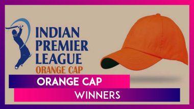 IPL Stats: Orange Cap Winners In Indian Premier League