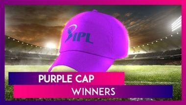 IPL Stats: Purple Cap Winners in Indian Premier League