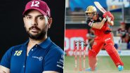 IPL 2021: Yuvraj Singh Puzzled with AB de Villiers Batting at Number 5 Against Mumbai Indians, Virat Kohli Explains Strategy