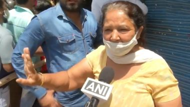 Lockdown in Delhi: 'COVID-19 Injection Will Not Benefit, But Alcohol Will', Says Woman Who Come to Purchase Liquor Ahead of Coronavirus Restrictions (Watch Video)