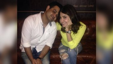 Anushka Sharma Shares an Adorable Throwback Picture With Brother Karnesh Ssharma (View Pic)