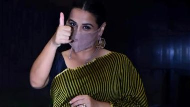 Vidya Balan Urges Fans To Wear Masks Amid COVID-19 Pandemic, Says the 'Mask'erade Is Not Over Yet (View Post)