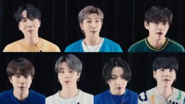 BTS Wishes 'Happy Mother's Day' in an Adorable Video and ARMY Cannot Keep Calm! Watch Viral Clip Featuring The K-Pop Band