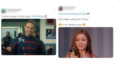 John Walker As Captain America Funny Memes and Jokes Go Viral on the Internet, Marvel Fans Aren't Impressed With Wyatt Russell at The Falcon and the Winter Soldier