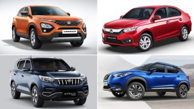 Discounts of Up to Rs 3.06 Lakh on Honda Amaze, Tata Harrier, Mahindra Alturas G4 & Nissan Kicks This Month