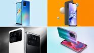 New Smartphones Slated To Launch in India Next Week; From Realme 8 5G To Xiaomi Mi X Series