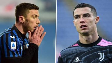 Robin Gosens' Teammates Buy Him Cristiano Ronaldo's Shirt After Juventus Star Refused to Swap Shirt With Atalanta Defender (Watch Video)