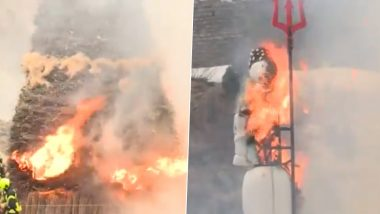 Switzerland's Sechseläuten Holiday 2021: The Winter Man, Böögg Explodes to Announce Summer! Watch Video