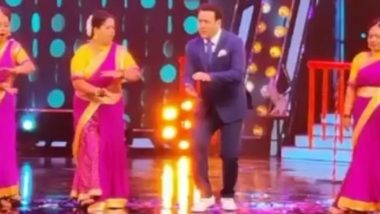 Dance Bangla Dance: Govinda Is Back to Work as Reality Show's Judge After Testing Negative For COVID-19