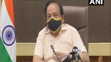 COVID-19 Mild Symptoms Patients Can Recover at Home With Right Medication and Care, Says Union Health Minister Dr Harsh Vardhan