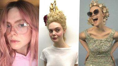 Elle Fanning Birthday Special: 5 Experimental Hair Looks That the Actress Rocked Like a Boss (View Pics)